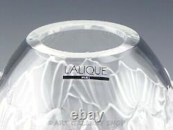 Lalique France Crystal 8 LARGE VASE SANDRIFT Mint Unused