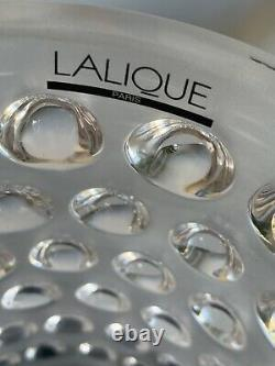 Lalique MOSSI VASE CLEAR CRYSTAL 1220700