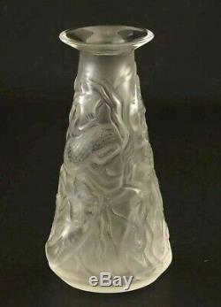 Lalique Mermaid Fabulous Bud Vase Original Box What A Find