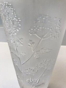 Lalique Ombelles Vase