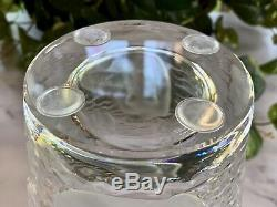Lalique Ondines Crystal Nudes Vase Large, Heavy, Gorgeous! Signed, Authentic