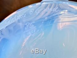 Lalique Opalescent Peonies Vase Mint Numbered Limited Edition with Box