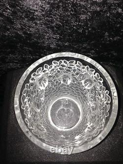 Lalique Silenes Vase Limited Edition Number #013 MINT WithBox & Authenticity Paper