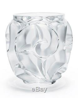 Lalique Tourbillions Small Vase, Clear