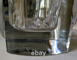 Lg LALIQUE Crystal Rearing Horse Vase LIMITED EDITION OF 10 for Asprey Signed