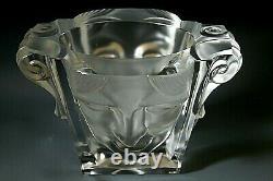Magnificent Art Deco Bohemian Glass Vase