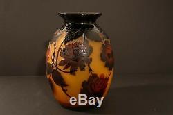 Monumental D'Argental, French cameo vase c. 1920