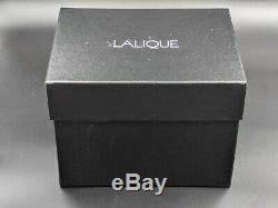 New Lalique Small Clear Crystal Bacchantes Vase 10547500 -BBL424A3