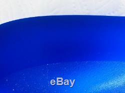 Philippe Starck for Daum Cobalt Blue L'Etrangete Vase