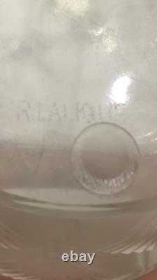 RENE LALIQUE original vintage Vase