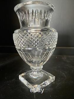 Rare BACCARAT France MUSEE DES CRISTALLERIES 1821-1840 Reproduction Crystal VASE