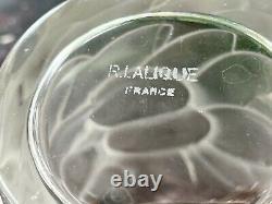 Rare Rene Lalique Blidah Small Vase or Large Tumbler R