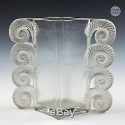 Rene Lalique Amiens Vase Designed 1929