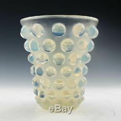 René Lalique Bammako Vase c1934 Marcilhac 1088