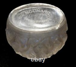 Rene Lalique Dancing Nude Woman Perfume Atomizer Bowl/Vase