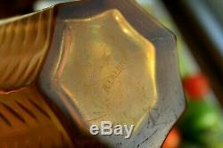 Rene Lalique Hesperides Glass Vase