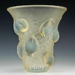 René Lalique St. Francois Vase c1930 Marcilhac 1055