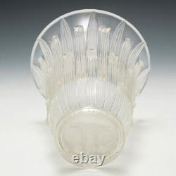 Rene lalique Bellis Vase Marcilhac 1097 Designed 1926