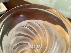 Signed Lalique Ermenonville Vase