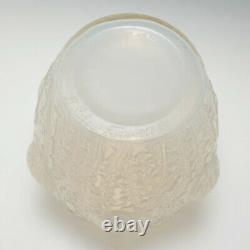 Signed Rene Lalique Domremy Vase Marcilhac 979