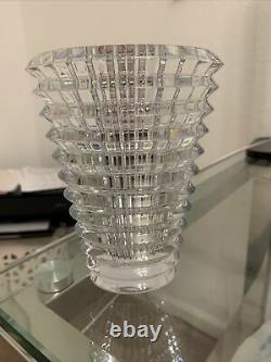 Stunning Baccarat Crystal Eye Vase BRAND NEW. Retail $450