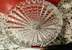 Stunning Baccarat Oval Eye Crystal Vase opened but never used