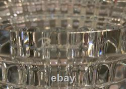 Stunning NEW Baccarat CLEAR glass Small Eye Vase-6 Inches tall-Retail $450