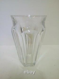 Vase Crystal BACCARAT France Model Harcourt
