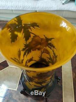 Very beautiful. Emile Galle vase