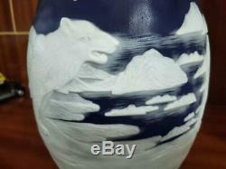 Very beautiful. Emile Galle vase The polar bear