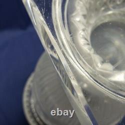 Vintage Lalique Crystal Versailles Large Vase Glass Urn 14 T France (1 of 2)
