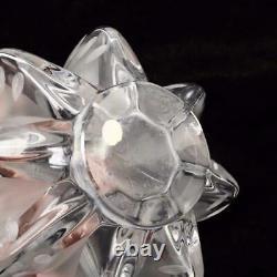 Vintage Lalique France Crystal Marie-claude Vase, 13, Signed